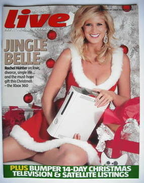 <!--2005-12-18-->Live magazine - Rachel Hunter cover (18 December 2005)