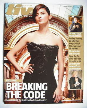 <!--2006-04-30-->Live magazine - Audrey Tautou cover (30 April 2006)