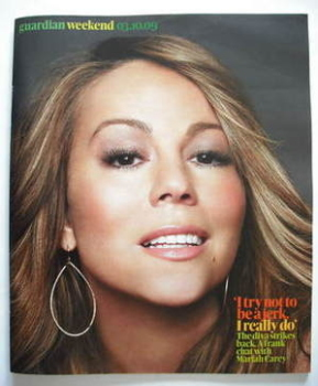 The Guardian Weekend magazine - 3 October 2009 - Mariah Carey cover