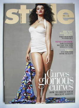 <!--2009-04-12-->Style magazine - Curves Glorious Curves cover (12 April 20