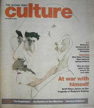 <!--2006-10-22-->Culture magazine - Rudyard Kipling cover (22 October 2006)