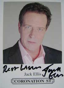 Jack Ellis autograph