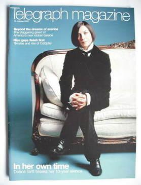 <!--2002-10-19-->Telegraph magazine - Donna Tartt cover (19 October 2002)