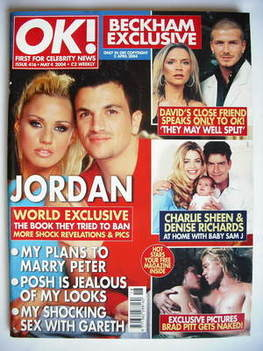 <!--2004-05-04-->OK! magazine - Jordan Katie Price and Peter Andre cover (4