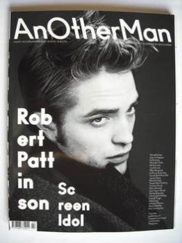 <!--2009-09-->Another Man magazine - Autumn/Winter 2009 - Robert Pattinson cover