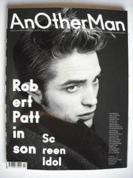 Another Man magazine - Autumn/Winter 2009 - Robert Pattinson cover