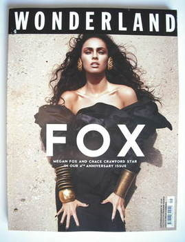 <!--2009-09-->Wonderland magazine - September/October 2009 - Megan Fox cove