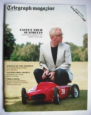 <!--2009-09-26-->Telegraph magazine - Chris Evans cover (26 September 2009)
