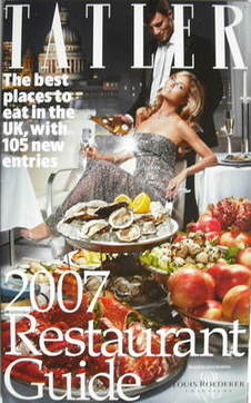 Tatler supplement - UK Restaurant Guide 2007