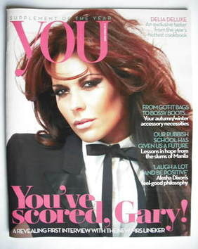 <!--2009-10-11-->You magazine - Danielle Bux cover (11 October 2009)