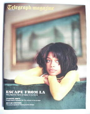 <!--2009-10-17-->Telegraph magazine - Naomie Harris cover (17 October 2009)