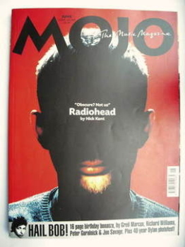 MOJO magazine - Thom Yorke cover (June 2001 - Issue 91)