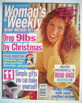 <!--1997-11-25-->Woman's Weekly magazine (25 November 1997)