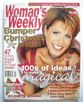 <!--2004-12-14-->Woman's Weekly magazine (14 December 2004 - Natasha Kaplin