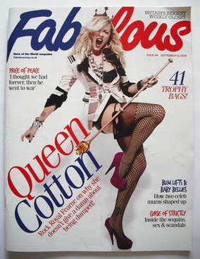 <!--2009-09-13-->Fabulous magazine - Fearne Cotton cover (13 September 2009
