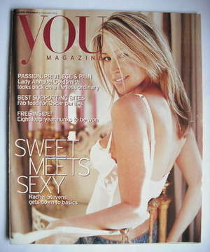 <!--2004-02-29-->You magazine - Rachel Stevens cover (29 February 2004)