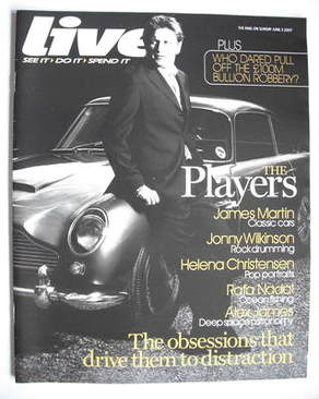 <!--2007-06-03-->Live magazine - James Martin cover (3 June 2007)