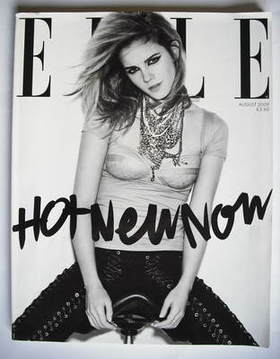 <!--2009-08-->British Elle magazine - August 2009 - Emma Watson cover (Subs