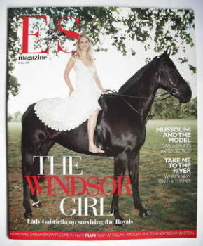 Evening Standard magazine - Lady Gabriella Windsor cover (25 May 2007)