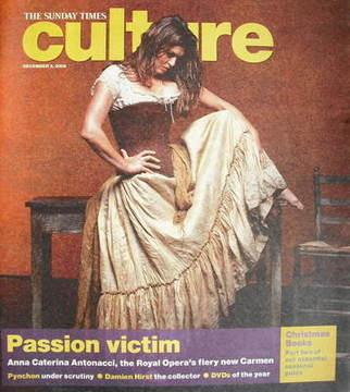 <!--2006-12-03-->Culture magazine - Anna Caterina Antonacci cover (3 Decemb