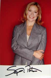 Sophie Raworth autograph