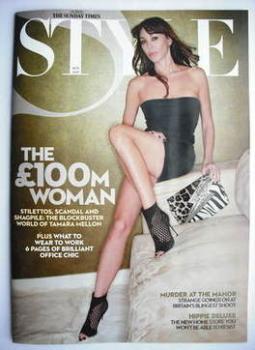 Style magazine - Tamara Mellon cover (18 October 2009)