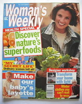<!--1997-10-07-->Woman's Weekly magazine (7 October 1997)