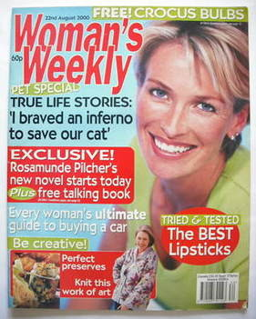 <!--2000-08-22-->Woman's Weekly magazine (22 August 2000)