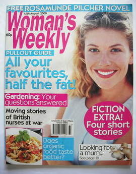 <!--2000-08-15-->Woman's Weekly magazine (15 August 2000)