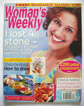 <!--2000-07-25-->Woman's Weekly magazine (25 July 2000)