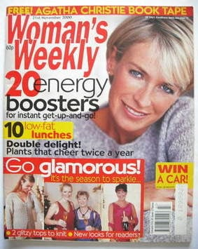 <!--2000-11-21-->Woman's Weekly magazine (21 November 2000)