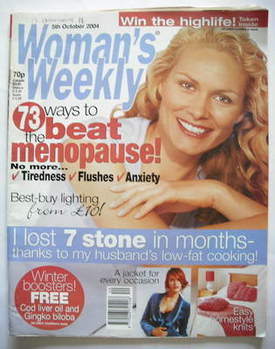 <!--2004-10-05-->Woman's Weekly magazine (5 October 2004 - British Edition)