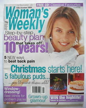 <!--2004-10-12-->Woman's Weekly magazine (12 October 2004)