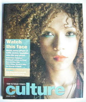 Culture magazine - Imani Coppola cover (10 August 2008)