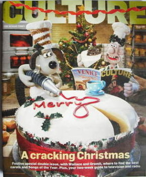 Culture magazine - Wallace and Gromit cover (21 December 2008)
