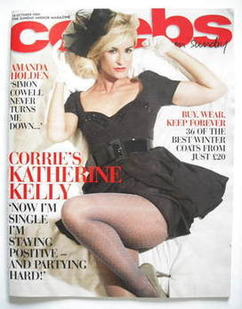 <!--2009-10-18-->Celebs magazine - Katherine Kelly cover (18 October 2009)
