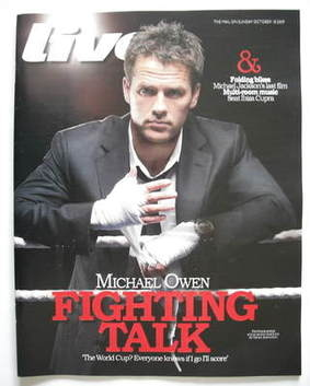 <!--2009-10-18-->Live magazine - Michael Owen cover (18 October 2009)