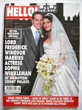 <!--2009-09-21-->Hello! magazine - Lord Frederick Windsor and Sophie Winkle