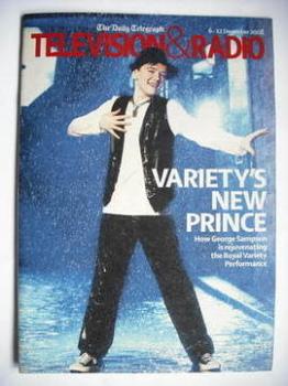 Television&Radio magazine - George Sampson cover (6 December 2008)