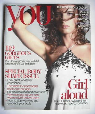 <!--2006-11-19-->You magazine - Juliette Lewis cover (19 November 2006)