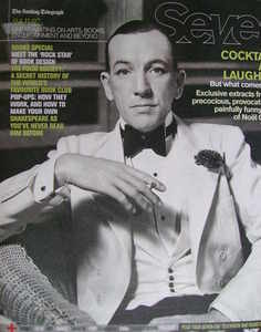 Seven magazine - Noel Coward cover (4 November 2007)