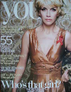 <!--2007-09-16-->You magazine - Annie Lennox cover (16 September 2007)