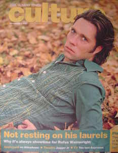 <!--2007-09-09-->Culture magazine - Rufus Wainwright cover (9 September 200