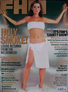 <!--2000-07-->FHM magazine - Louise Redknapp cover (July 2000)