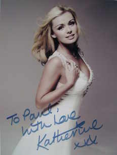 Katherine Jenkins autograph