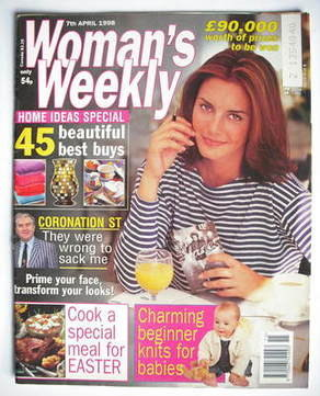 <!--1998-04-07-->Woman's Weekly magazine (7 April 1998)