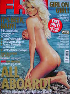 <!--2003-07-->FHM magazine - Victoria Silvstedt cover (July 2003)