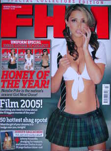 <!--2005-03-->FHM magazine - Natalie Pike cover (March 2005)