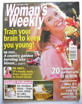 <!--1998-05-12-->Woman's Weekly magazine (12 May 1998)