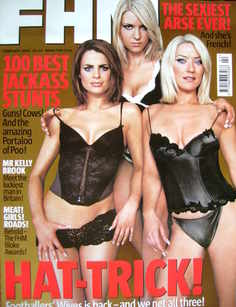 <!--2003-02-->FHM magazine - Susie Amy, Katharine Monaghan and Zoe Lucker c